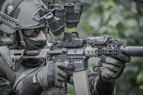 10 mest avancerede teknologier brugt af militært forsvar